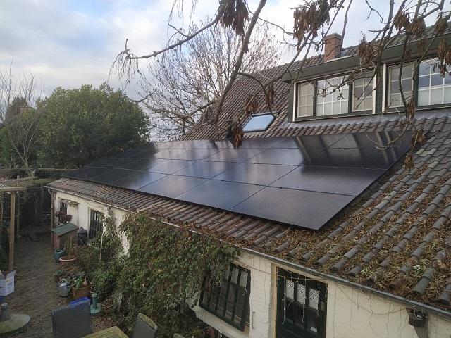 Duurzaam Lithoijen zonnepanelen Kekerdom particulier