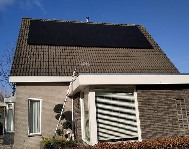 Duurzaam Lithoijen zonnepanelen Megen particulier
