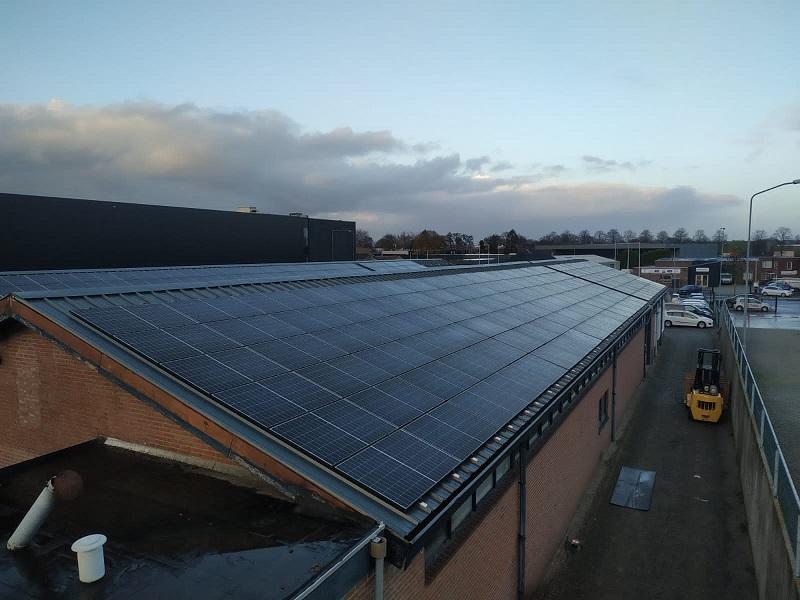 Duurzaam Lithoijen zonnepanelen Wijchen zakelijk